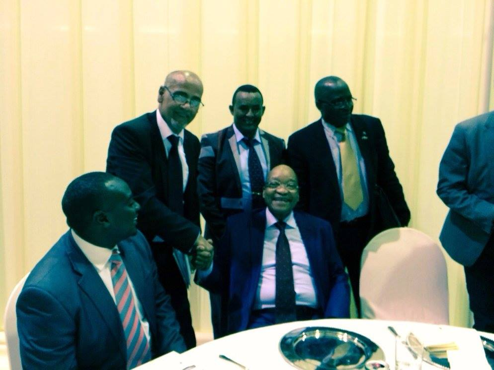 Meeting with Jacob Zuma 0001